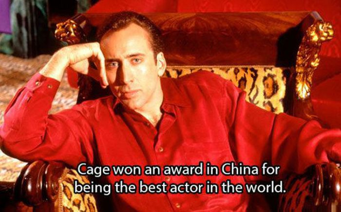 25 Shocking Facts About Nicolas Cage