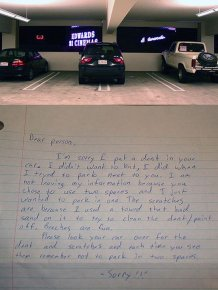 The Passive Aggressive Approach To Parking