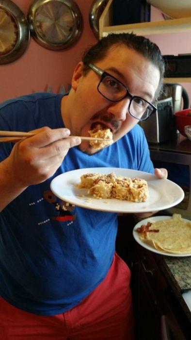 Breakfast Style Sushi