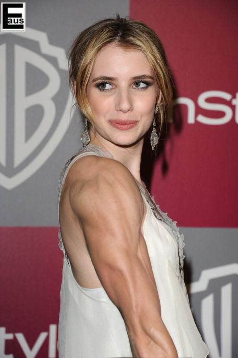 Hot Female Celebs With Weird Photoshopped Muscles