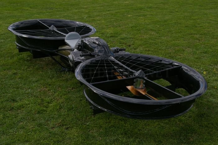 Twin Rotor Hoverbike