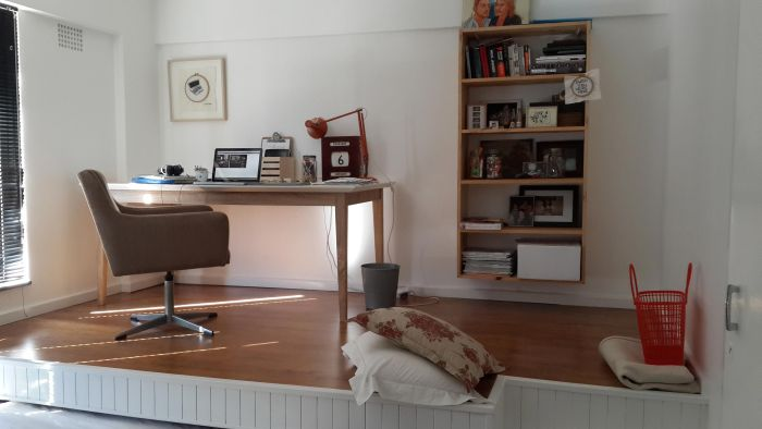 Guest Bedroom And Home Office Merge Into One