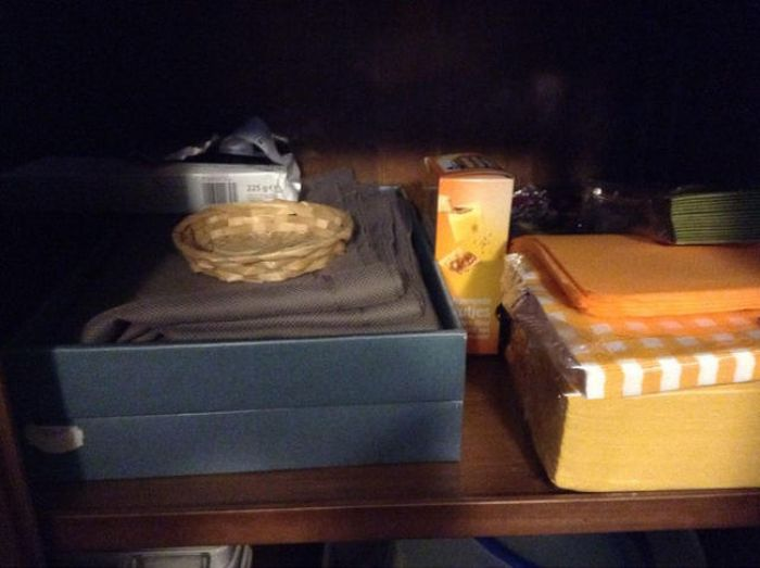 Man Leaves A Surprise In The Secret Food Stash