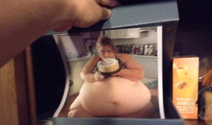 Man Leaves A Surprise In The Secret Food Stash