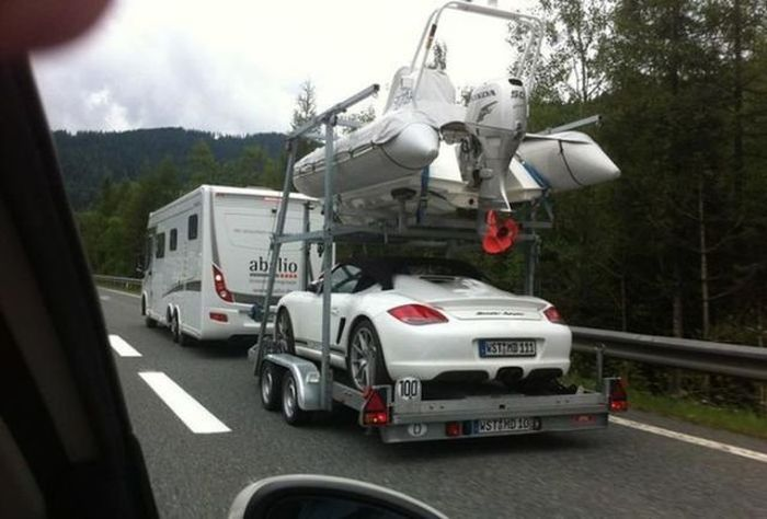 The Strangest Things You Will See On The Road