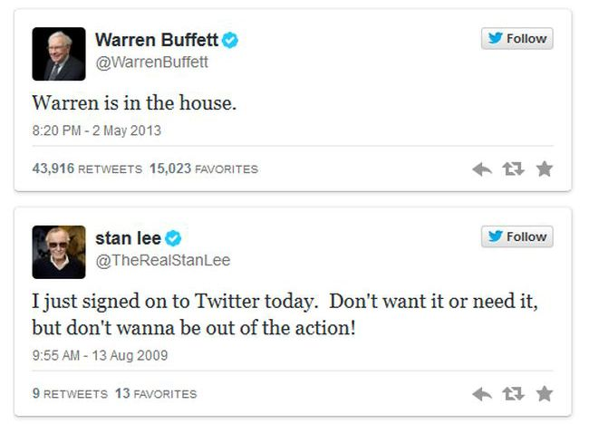The Best First Tweets Ever