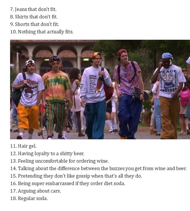Straight White Guys Love All Of These Things