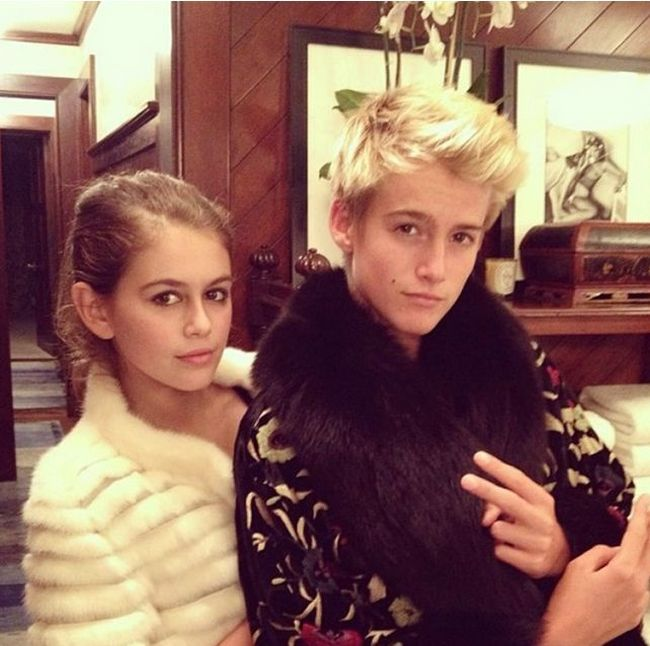 Guess Which Supermodel Gave Birth To These Kids