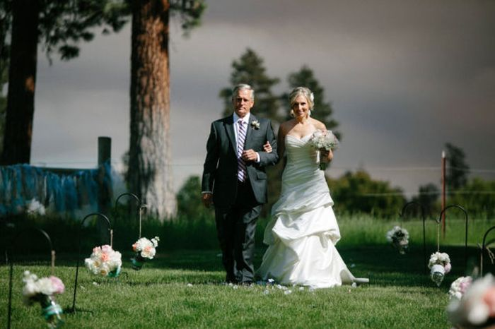 A Wedding Photo Shoot In A Wildfire