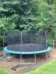 This Is Why We're Selling The Trampoline