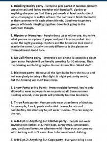20 Unique Ideas For Your Next Party