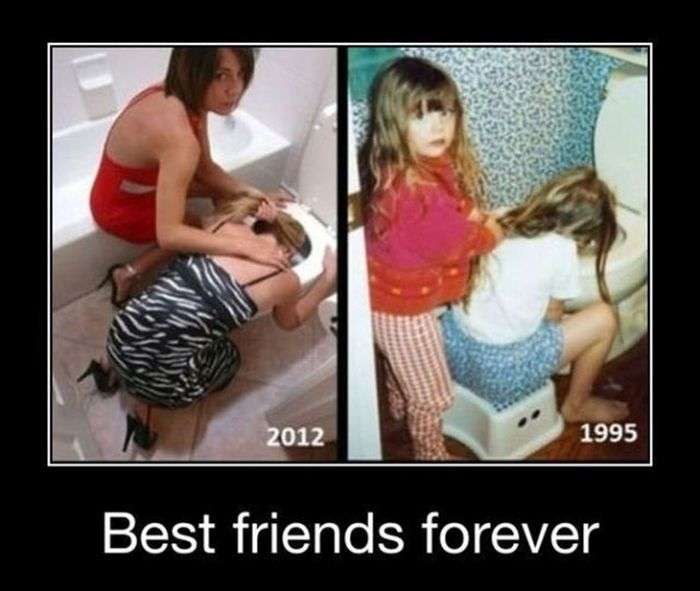The Difference Between Friends And Best Friends