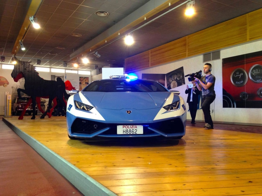 2015 Lambo Huracan LP 610-4 Polizia