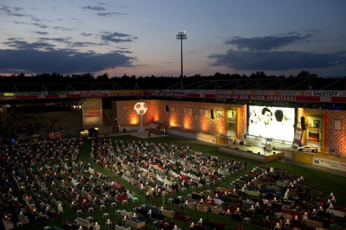 Alten Foersterei Stadium Turned Into A Movie Theater