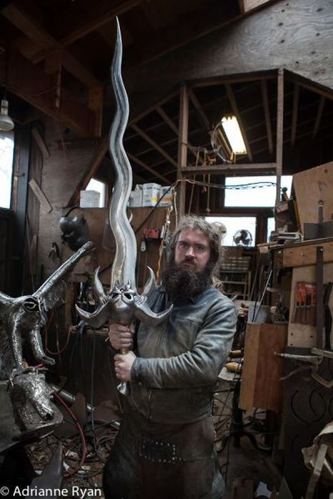 This Guy Makes Epic Swords