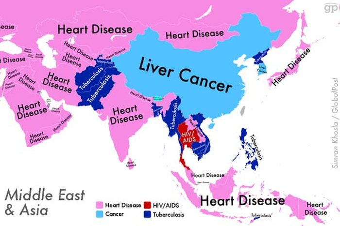 The Most Common Causes Of Death Around The World