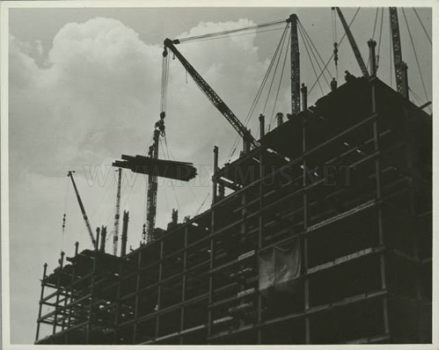 Empire State Building Under Construction