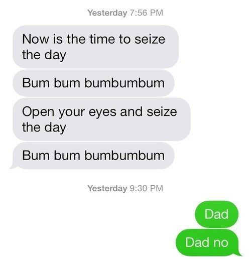 Dads Take Texting To A Whole New Level