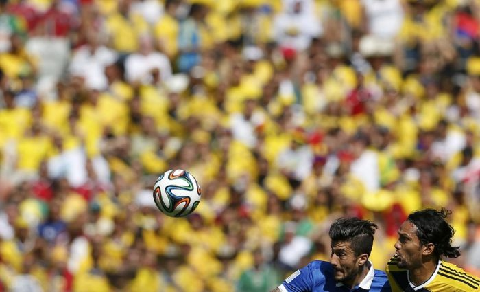 Perfectly Timed Pictures From The World Cup