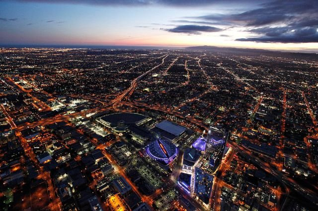 Los Angeles from a Birds Eye View