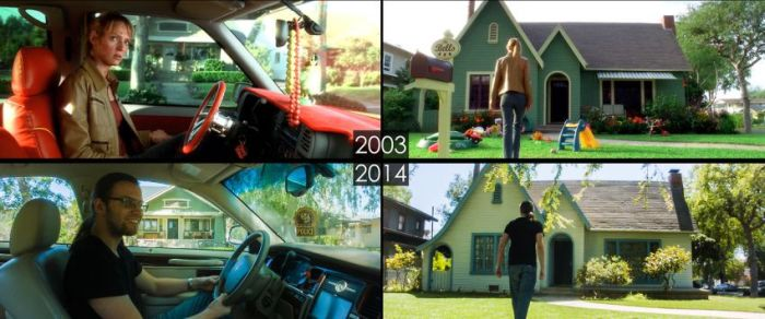 Famous Movie Sets Then And Now