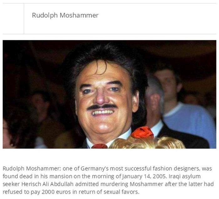 20 most shocking celebrity murders photos