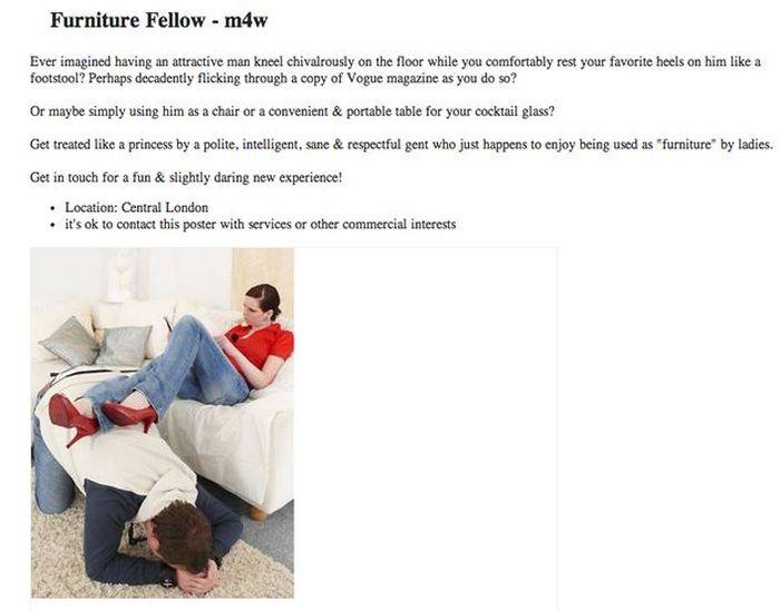 The Most Awkward Craigslist Ads Ever