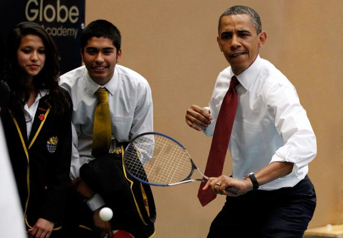 The Best Obama Ping Pong Photoshops