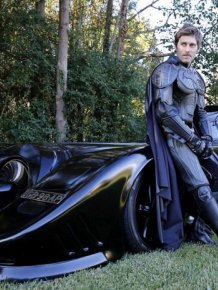 This Man Has A Completely Street-Legal Batmobile