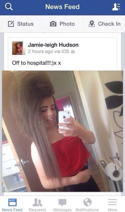 This Is Definitely The Wrong Time For A Selfie