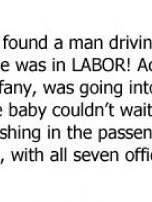 Baby Born On The Side Of The Road