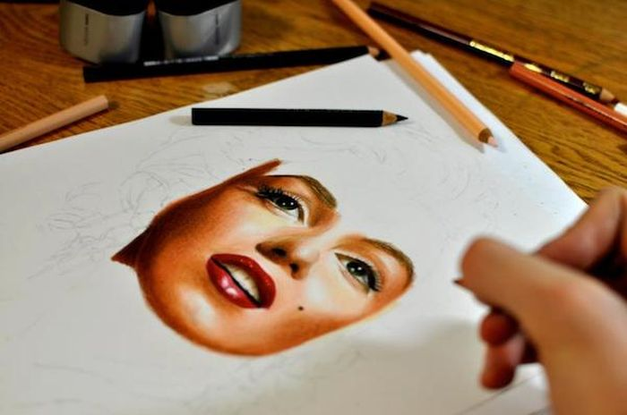 These Colored Portrait Pencils Look Real