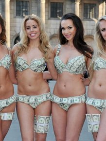 Bikinis Made Of Money