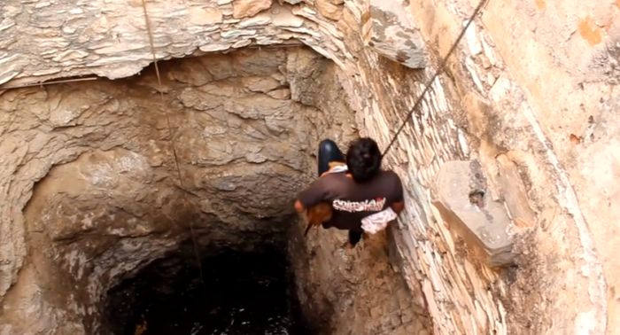 This Brave Man Saved Someone Special From The Well