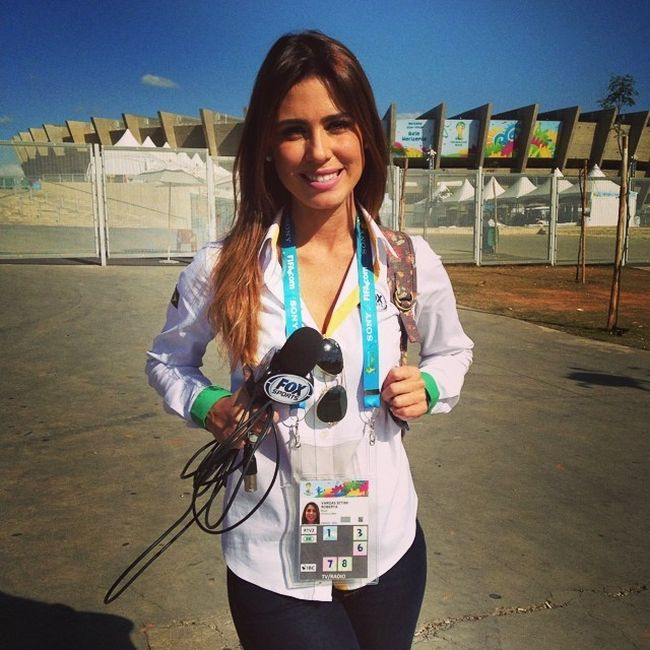 The Best Looking Reporters At The World Cup