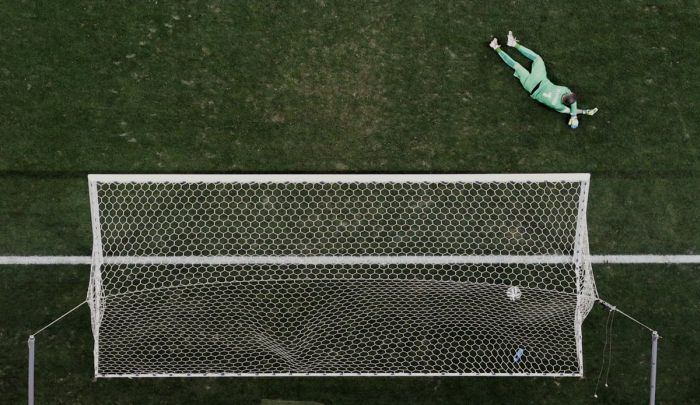 Intense Action Shots From The World Cup