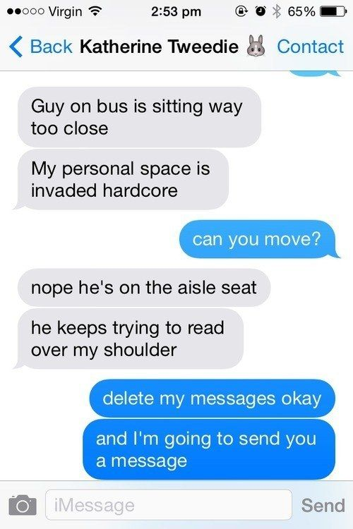 What To Do When Someone Watches You Text