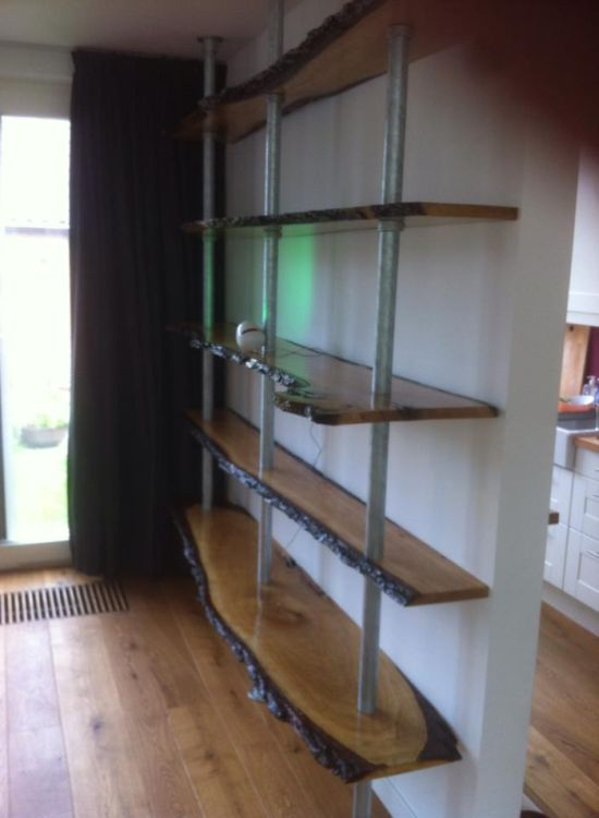 Awesome Homemade Bookshelf