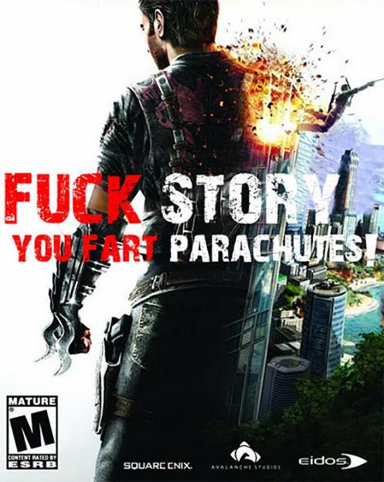 If Video Game Titles Were Completely Honest