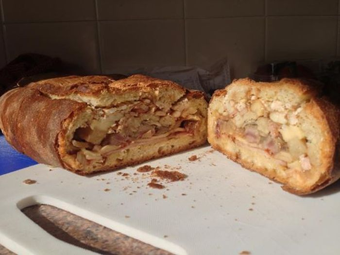 The Most Epic Calzone Of All Time