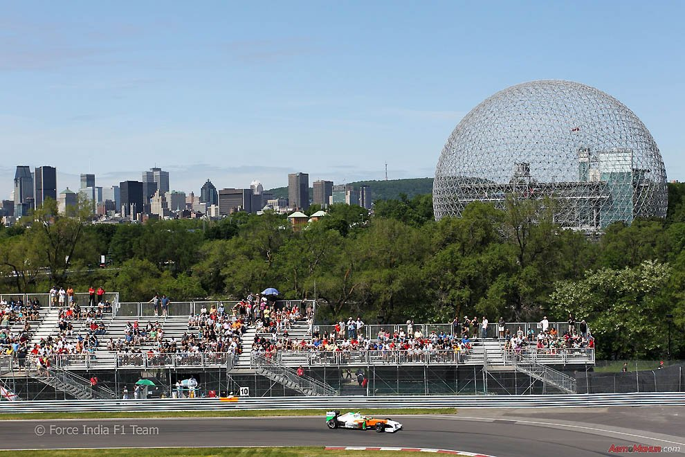 Behind the scenes the Canadian Grand Prix 2011: Preparation
