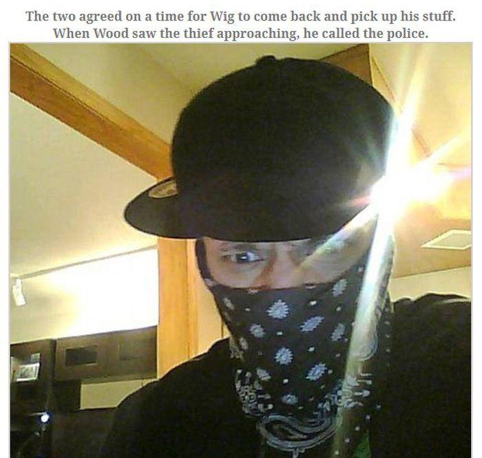 Burglar Gets Busted For Logging Onto Facebook