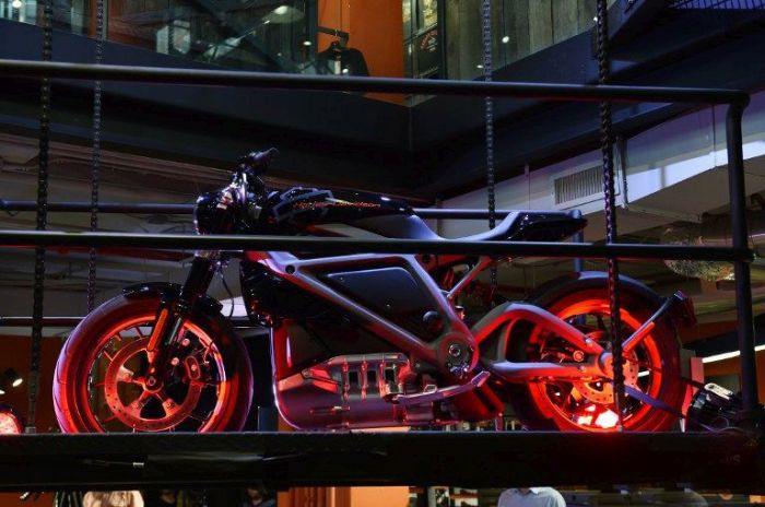 Get A Look At The First Electric Harley-Davidson