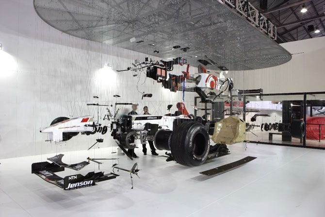 Special Mercedes GP Petronas