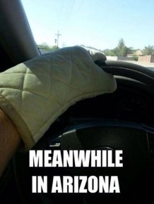 You Know It's Too Hot Outside When