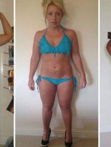 From Chubby Girl To Gorgeous Fitness Model
