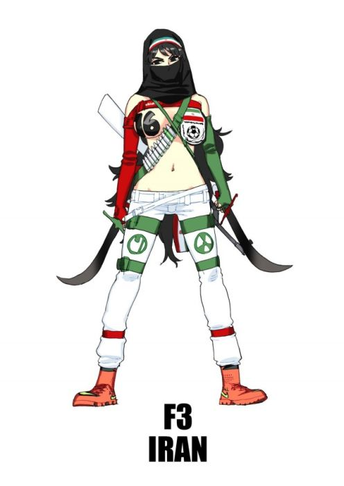 Anime Mascots For Your Favorite World Cup Teams