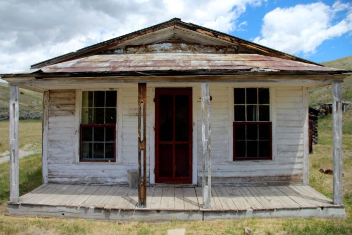 Bannack Montana Is A Ghost Town