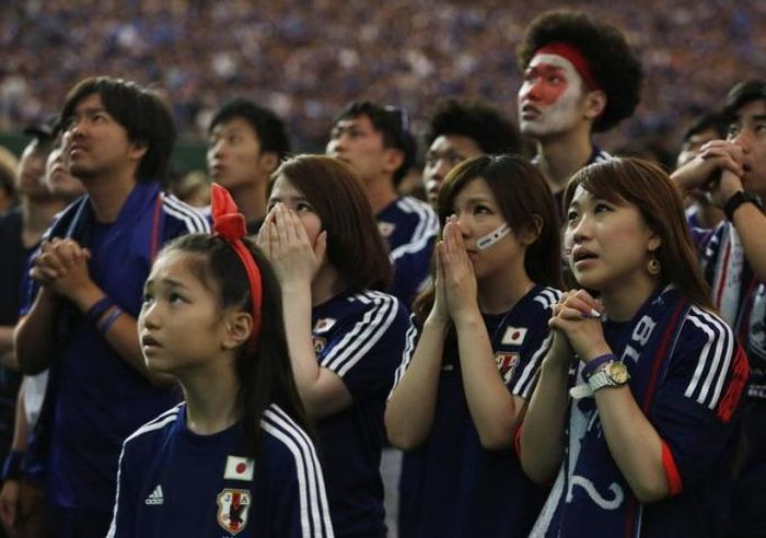 The Saddest Fan Faces From The World Cup