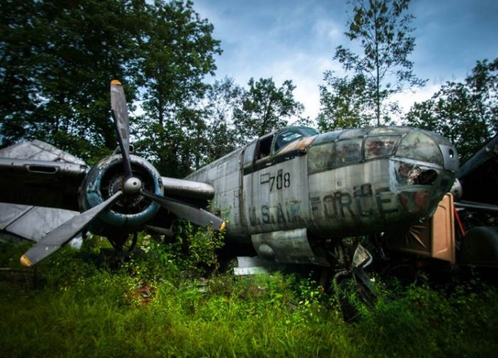 Epic Abandoned WWII Fighter Planes